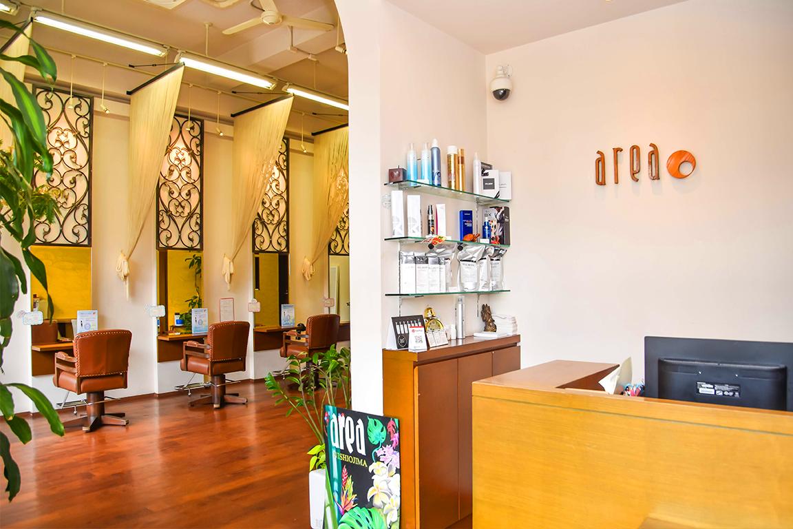 【自分史上最高の艶やかな髪を手に入れられる美容室】area|西大島のヘアサロン